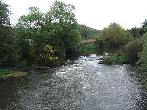 The River Don from Kilnhurst bridge. The Don f...