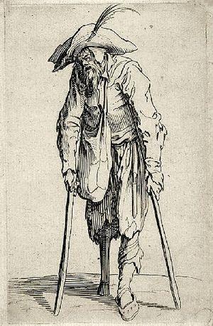 Jacques Callot Beggar