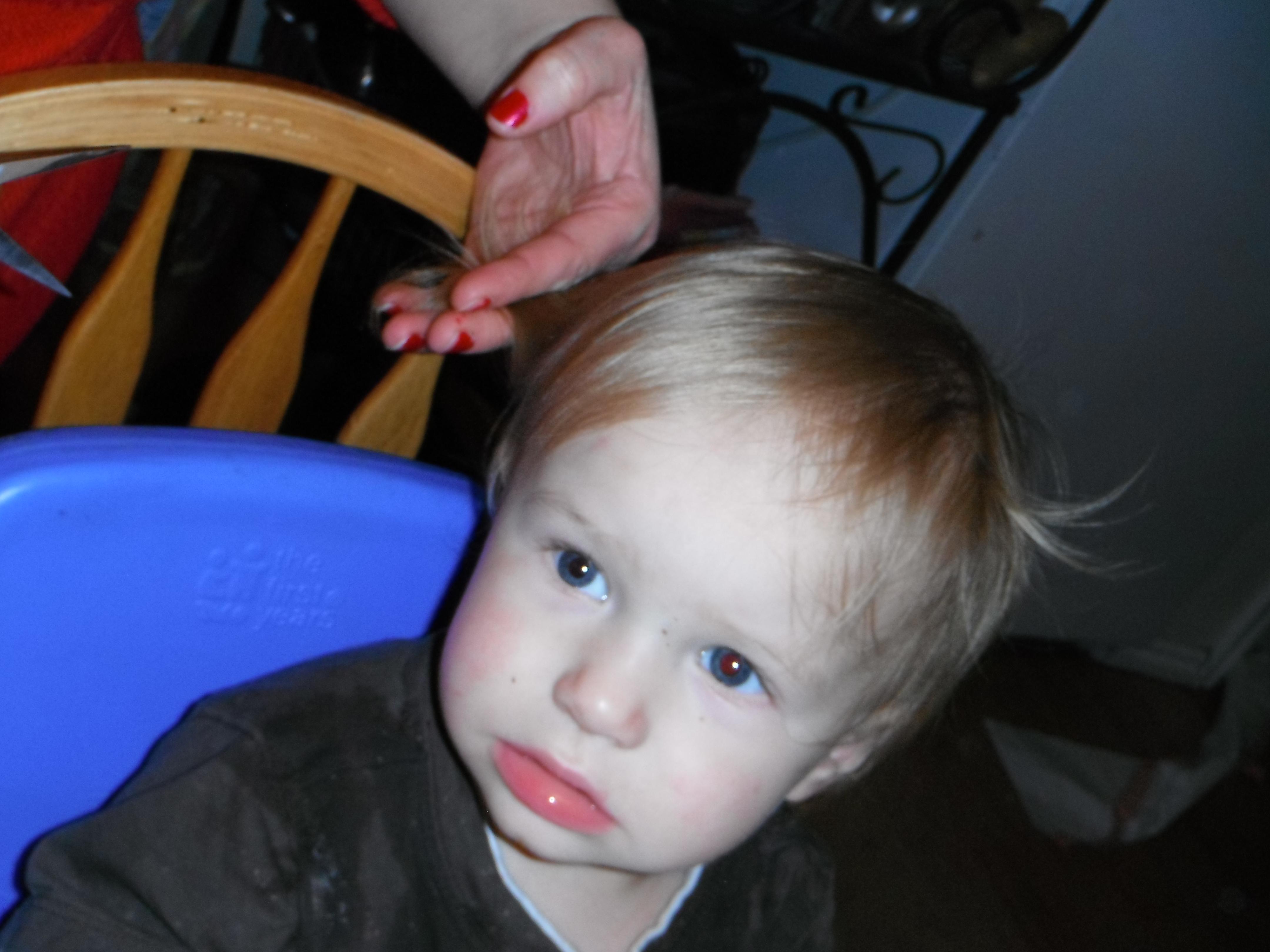 Tristan long hair