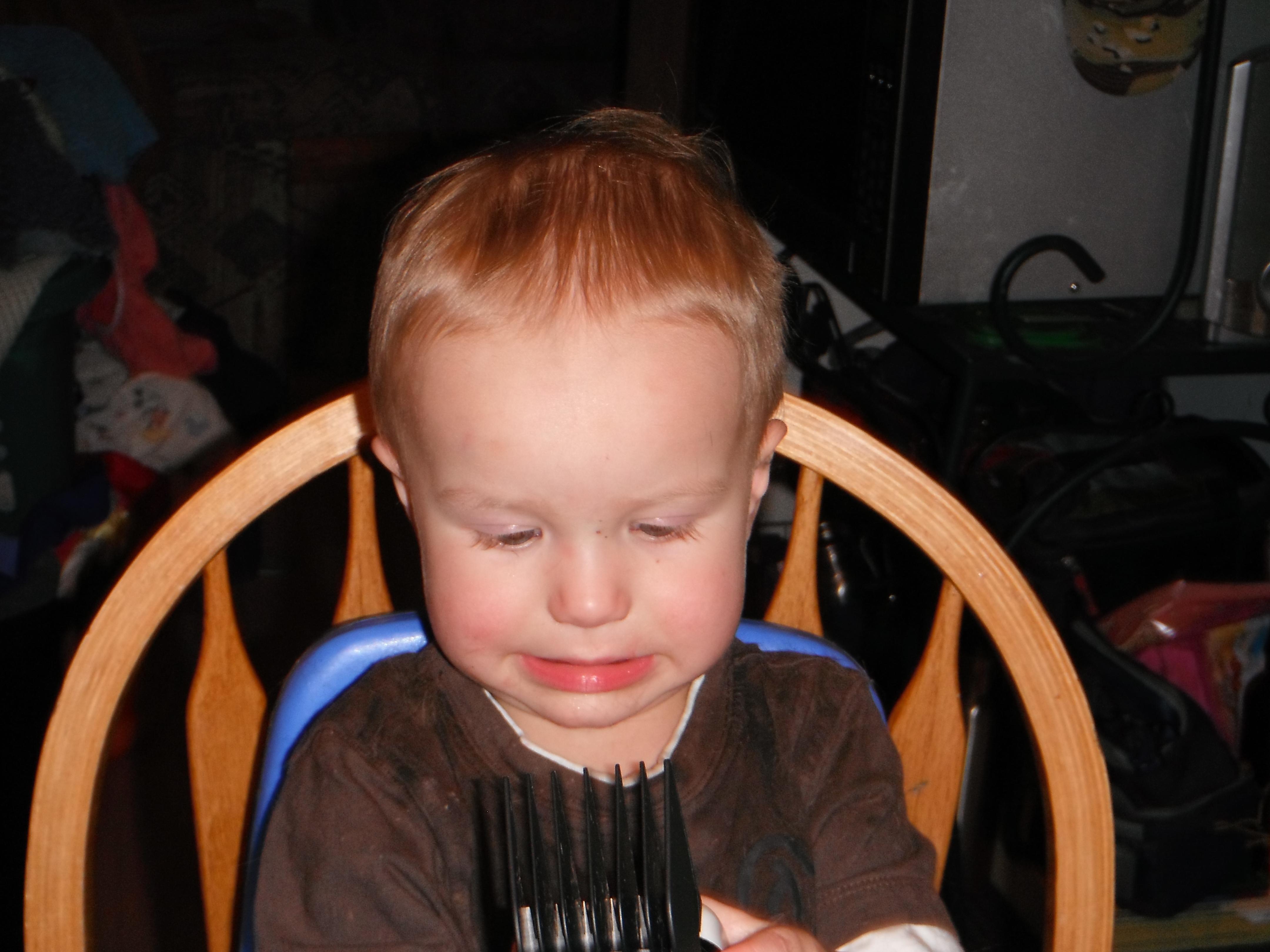 Tristan short hair
